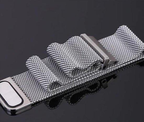 Horlogeband van RVS voor Suunto Spartan Sport / Sport HR / Traverse | 24 mm | Horloge Band - Horlogebandjes | Zilver
