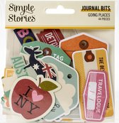 Simple Stories: Going Places Bits & Pieces Die-Cuts 44/Pkg