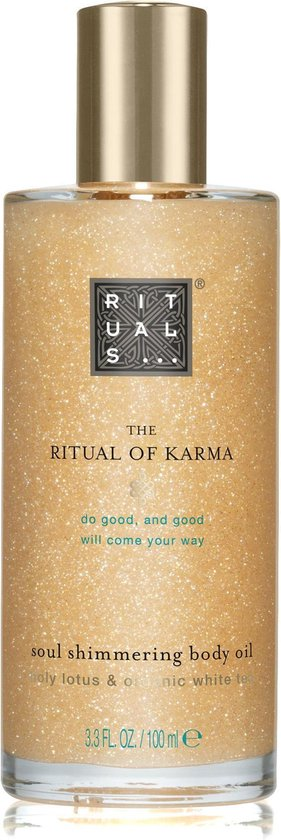 RITUALS The Ritual of Karma Body Shimmer Oil, lichaamsolie 100 ml