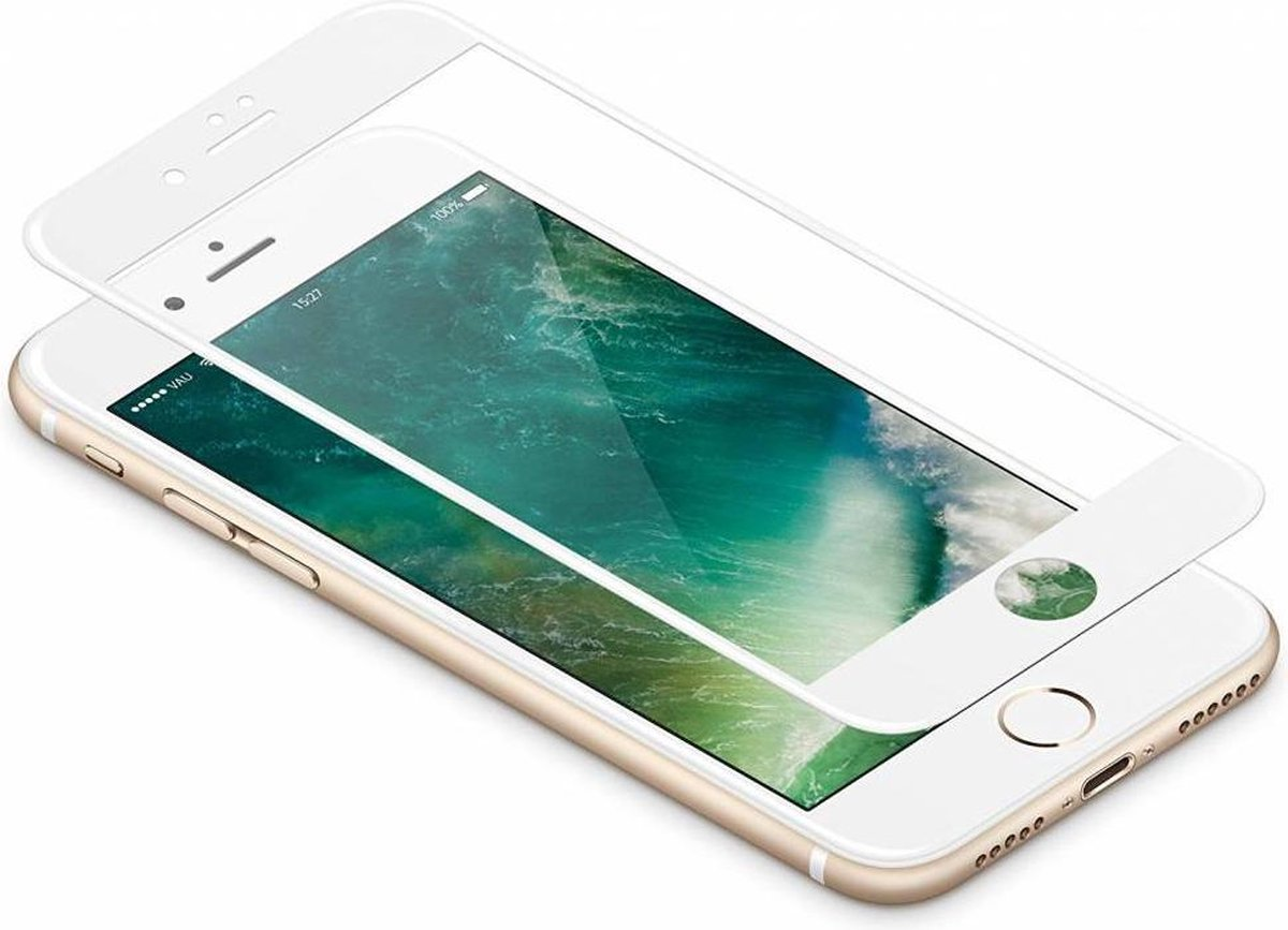 Afbeelding van product Swypert  3D Tempered Glass voor iPhone 7 Plus Wit