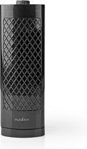 Nedis Bureauventilator | Hoogte 30 cm | 3-Snelheden | Oscillatie | Zwart