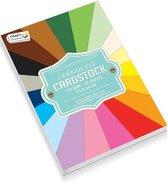 Gekleurd Papierblok | Knutselpapier | 120 Grams | 50 vellen| 24 CM X 34 CM