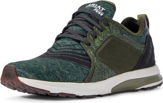 Ariat Womans Fuse  Sneaker - Heathered Green - 41