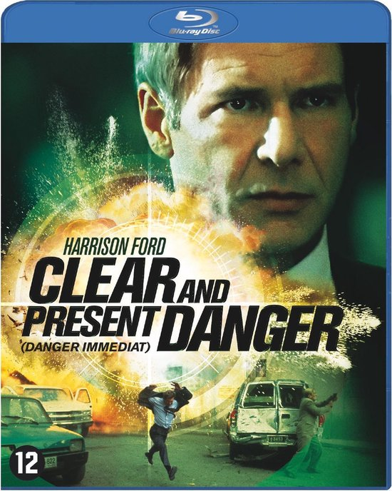 Cover van de film 'Clear And Present Danger'