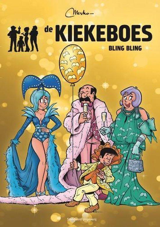 Kiekeboes special Sp. bling bling verzamelalbum - Merho  