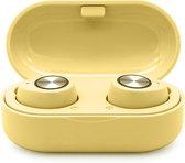 JAP Sounds AP35 - Draadloze oortjes Bluetooth - Oordopjes - Apple Android Samsung - Geel
