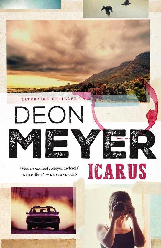 Boek cover Bennie Griessel 5 -   Icarus van Deon Meyer (Paperback)