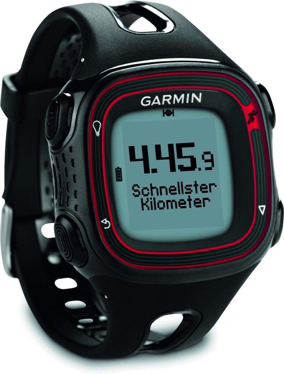 Garmin Forerunner 10 - Sporthorloge voor heren - Zwart/Rood - Garmin