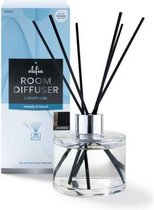 Alefia | Geurstokjes | Huisparfum van 150 ml in de geur Woody & Floral - Luxury Home Perfumes