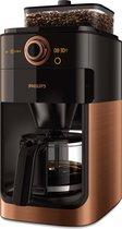 Philips Grind & Brew HD7768/70 - Koffiezetapparaat - Kopermetaal