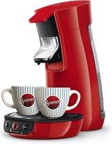 Philips Senseo Viva Café HD6563/88 - Koffiepadapparaat met kopjes - Rood