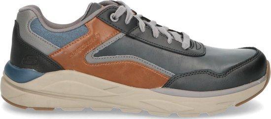 Skechers Sneaker Heren Blauw/Cognac