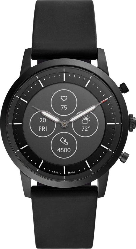 Fossil Collider Hybrid HR Smartwatch FTW7010 - Zwart