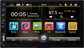 2 Din Autoradio met Bluetooth - Aux - Mirrorlink - Universeel - MP5 - Full Touch - Gratis USB
