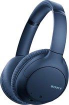 Sony WH-CH710 - Draadloze over-ear koptelefoon met Noise Cancelling - Blauw