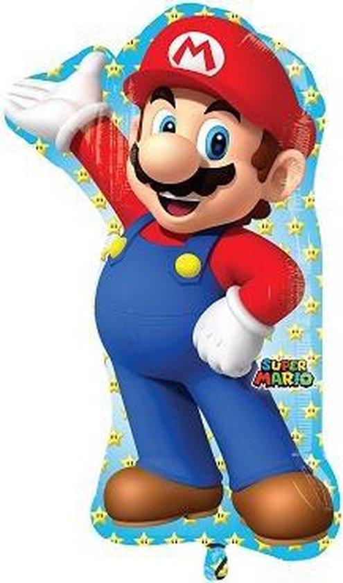 Folieballon supershape Mario