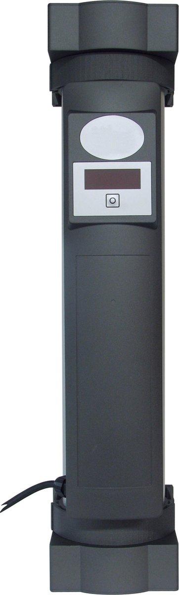 CleanLight Air -Luchtreiniger – ionisator – Luchtreiniger met ionisator-  neutraliseert virussen en bacteriën – Phillips UV Lamp – Super stil  – Zwart –