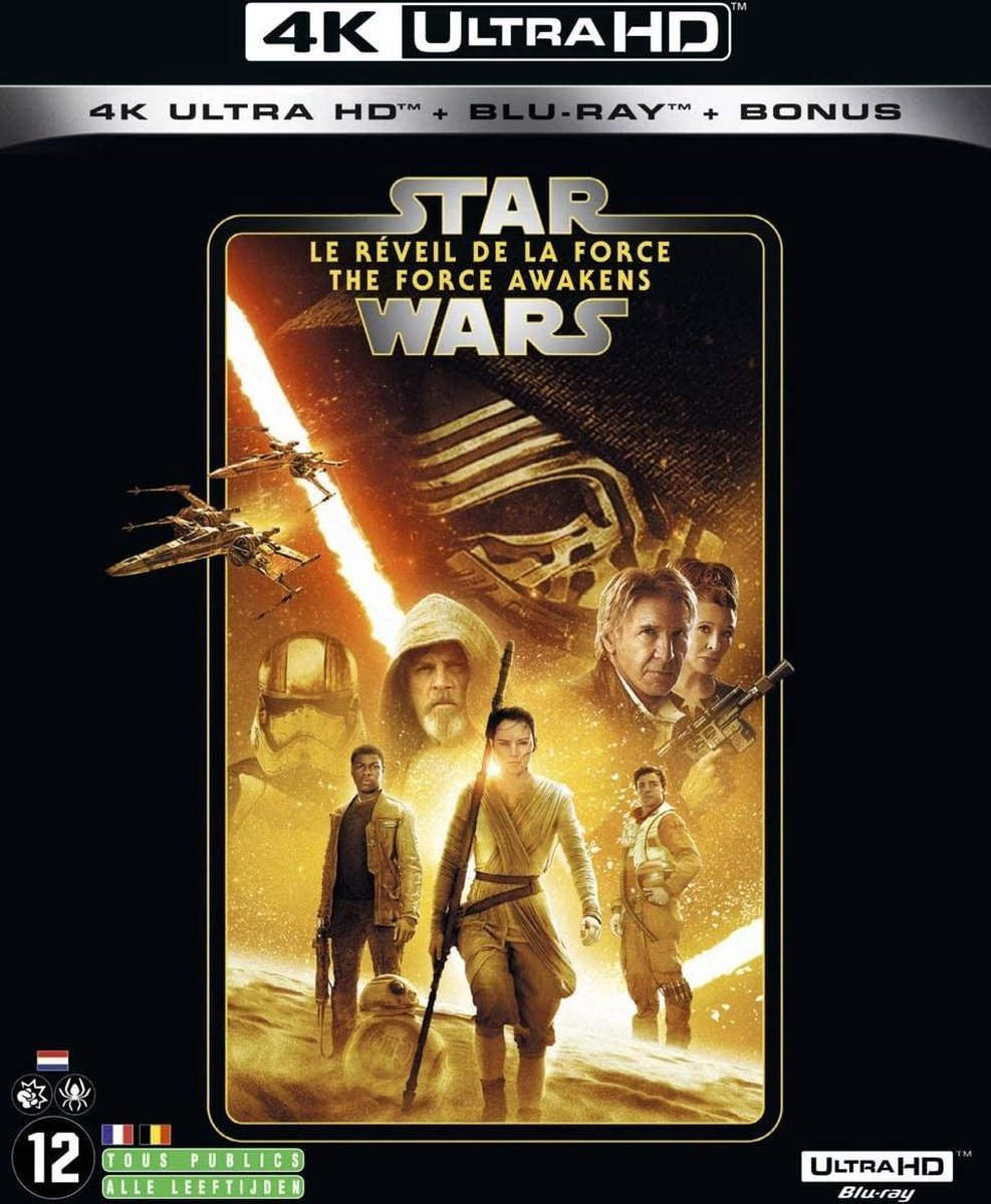 Star Wars: The Force Awakens (4K Ultra HD Blu-ray) (Import zonder NL)-