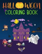 Halloween Coloring Book: From Easy To Hard Kids Halloween Book