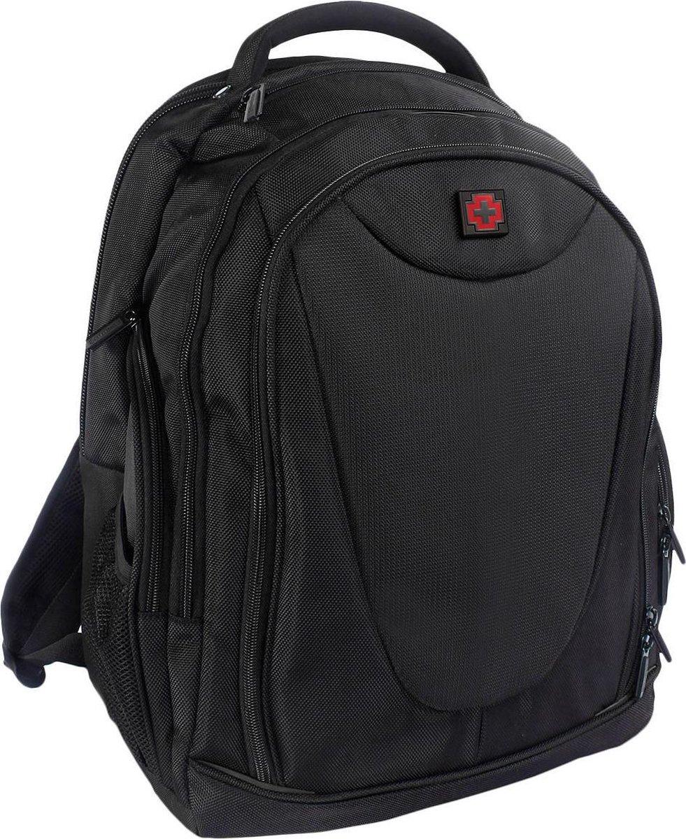 Swissbrand - Georgia - Luxe Backpack - Zwart