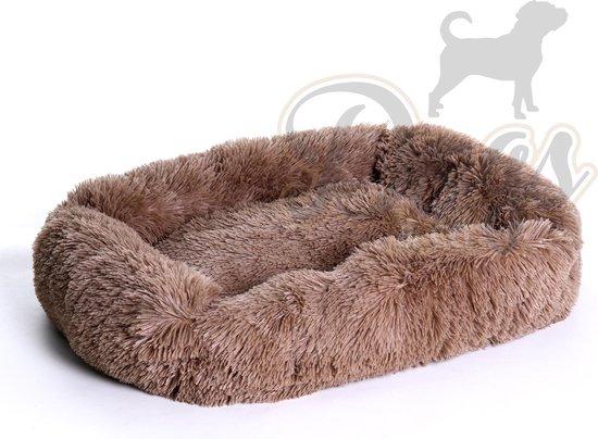 Dogs&Co Luxe Benchkussen - hondenmand - Fluffy Hondenmand - Heerlijk zacht -...