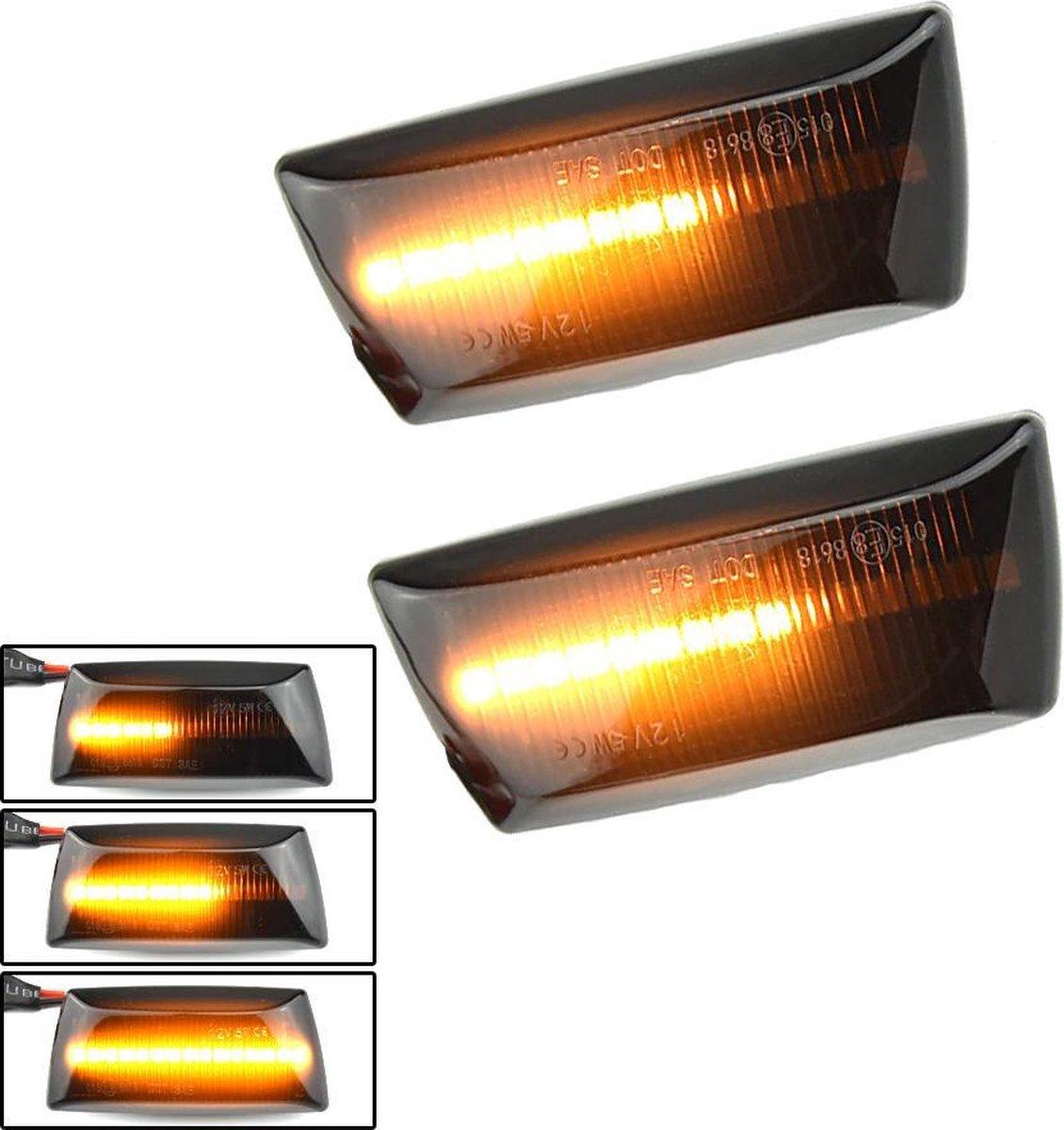 Xarang Autolampen - LED Dynamic Zijknipperlichten - voor Opel Astra H Zafira B Corsa D Insignia Meri