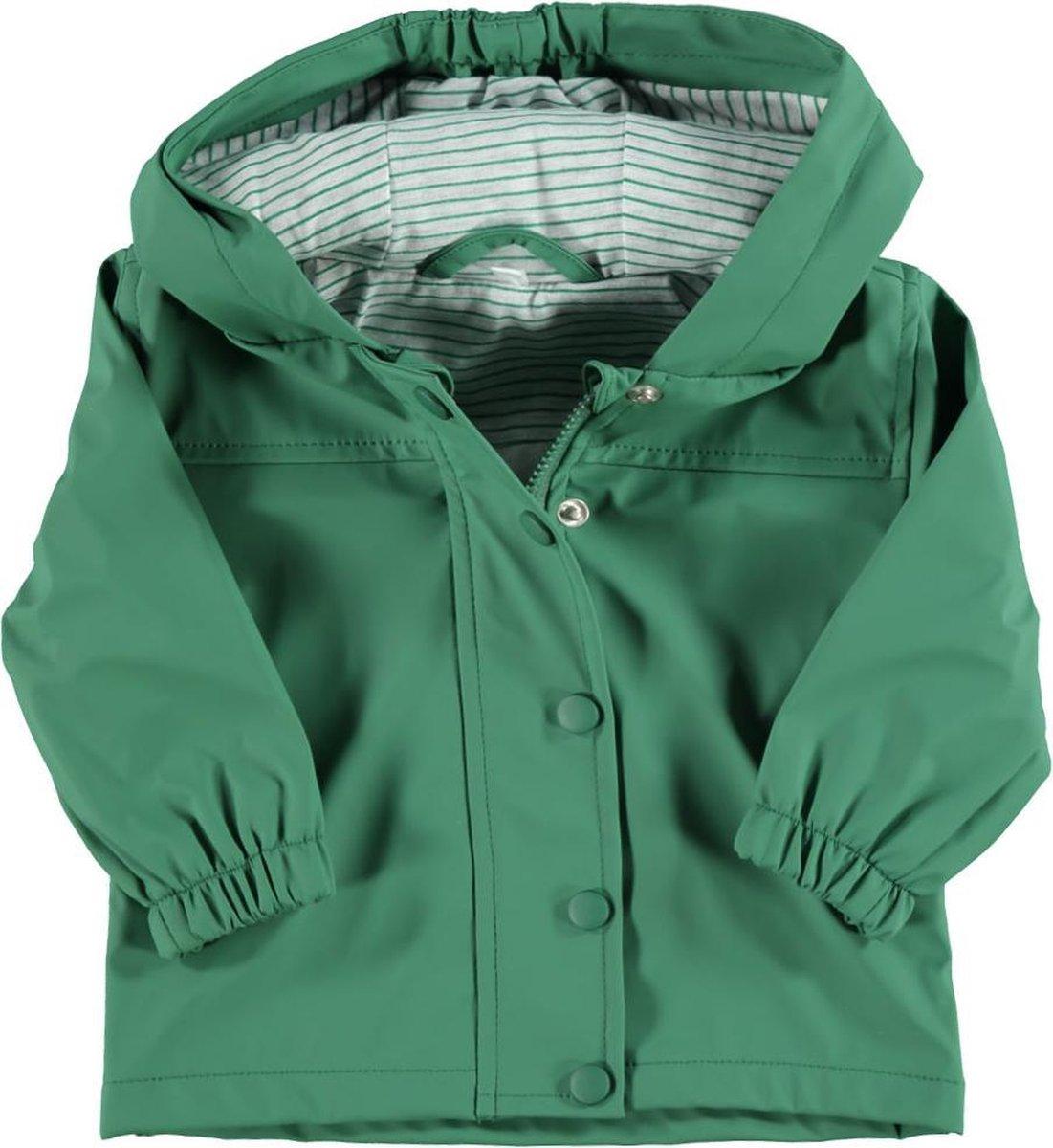 Zeeman baby regenjas - groen - maat 86