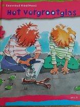 """Kinder leesboek AVI-M5 """"het vergrootglas"""""""