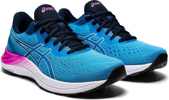 bol.com   Asics Sportschoenen - Maat 41.5 - Vrouwen - blauw/paars/wit