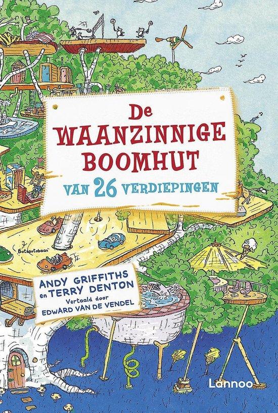 Boek cover De waanzinnige boomhut 2 - De waanzinnige boomhut van 26 verdiepingen van Andy Griffiths (Hardcover)