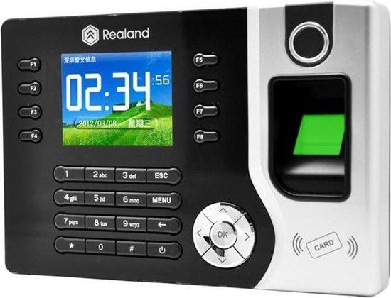 Direct-security Realand A-C071 2,4 inch TFT-kleurenscherm Vingerafdruk & RFID-tijdregistratie, USB-communicatie Kantoortijdregistratieklok