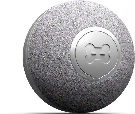 Cheerble mini ball 2.0 - Slimme interactieve zelf rollende bal voor katten - 3 speelmodi - Grijs