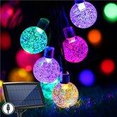 J-Pro Tuinverlichting op zonne-energie - 100 Solar Colored LED 17m Cristal lichtsnoer lichtslinger