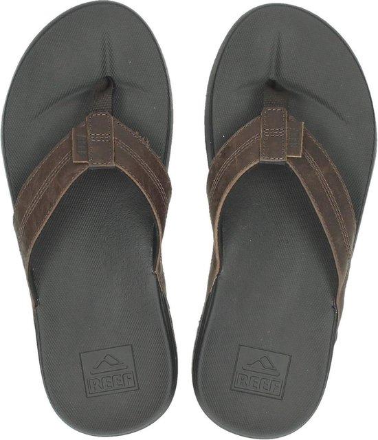 Reef Cushion Bounce Phantom Le Heren Slippers - Black/Brown - Maat 43