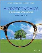 Boek cover Microeconomics van Edgar K. Browning