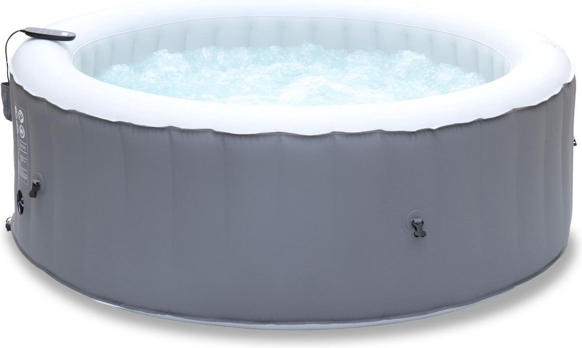 Opblaasbare spa MSPA Kili 4 , 180cm, 4 personen, pomp, verwarming, inflator, filter, zeildoek en afstandsbediening
