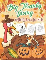 Big Thanksgiving Activity Book for Kids Ages 4-8