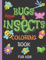 Bugs and Insects Coloring Books for Kids