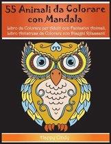 55 Animali da Colorare con Mandala