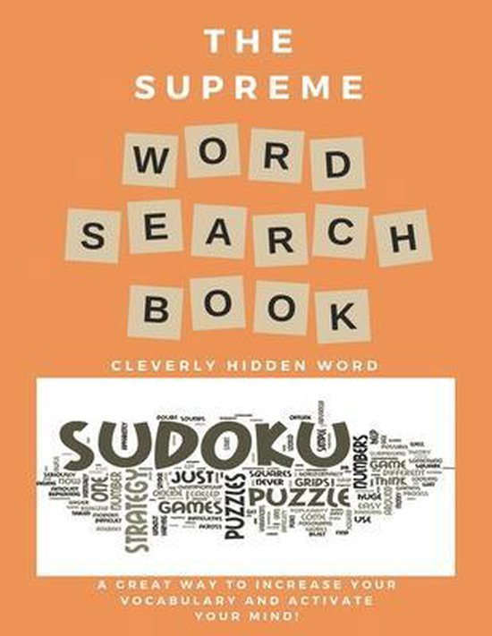 The Supreme Word Search Book: or Adults - Large Print Edition
