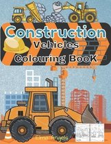 Construction Vehicles Colouring Book