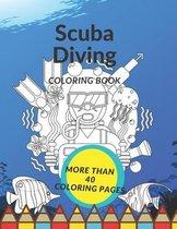 Scuba Diving Coloring Book