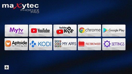 Maxytec Phoenix Pro 8K | De eerste 8K IPTV en mediabox - Iptv Box- Iptv Player Zwart