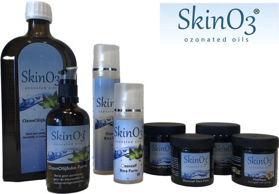 SkinO3 Mellifique Honingzalf - 50ml - glazen pot met creme spatel