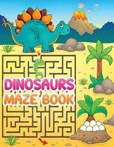Dinosaurs Maze book