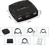 HDMI KVM switch met usb aansluiting