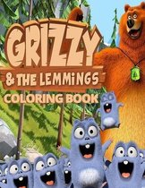 Grizzy & The Lemmings Coloring Book