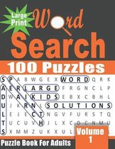 Large Print Word Search Book for Adults
