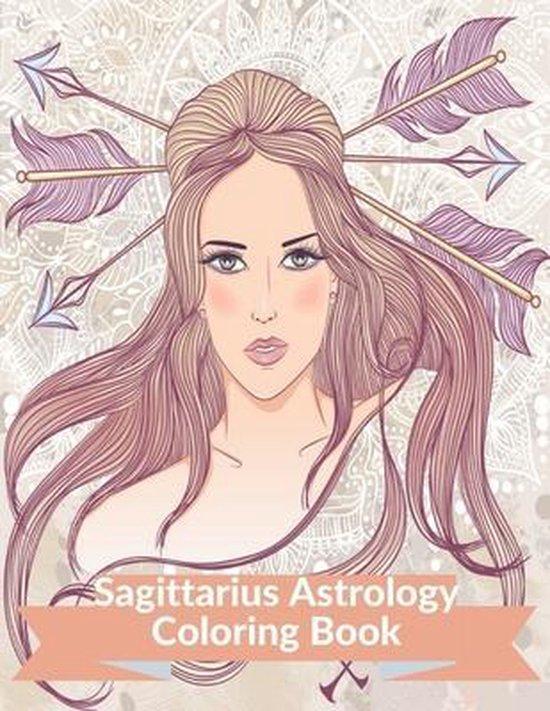 Sagittarius Astrology Coloring Book