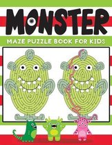monster maze puzzle book for kids